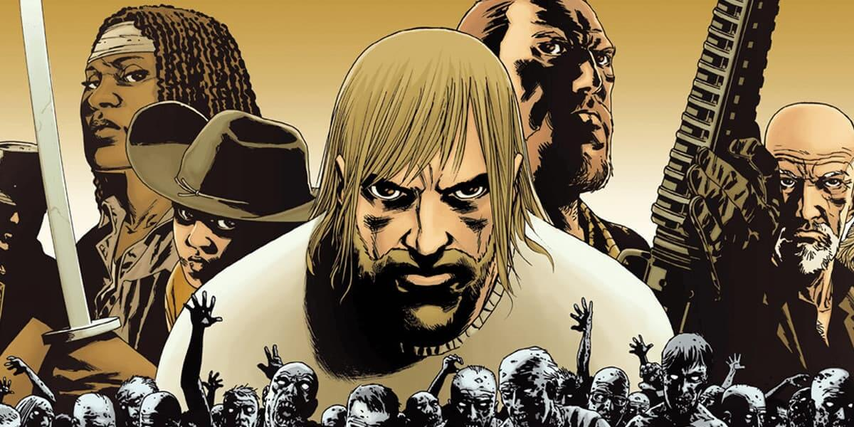walking dead box set comics collection