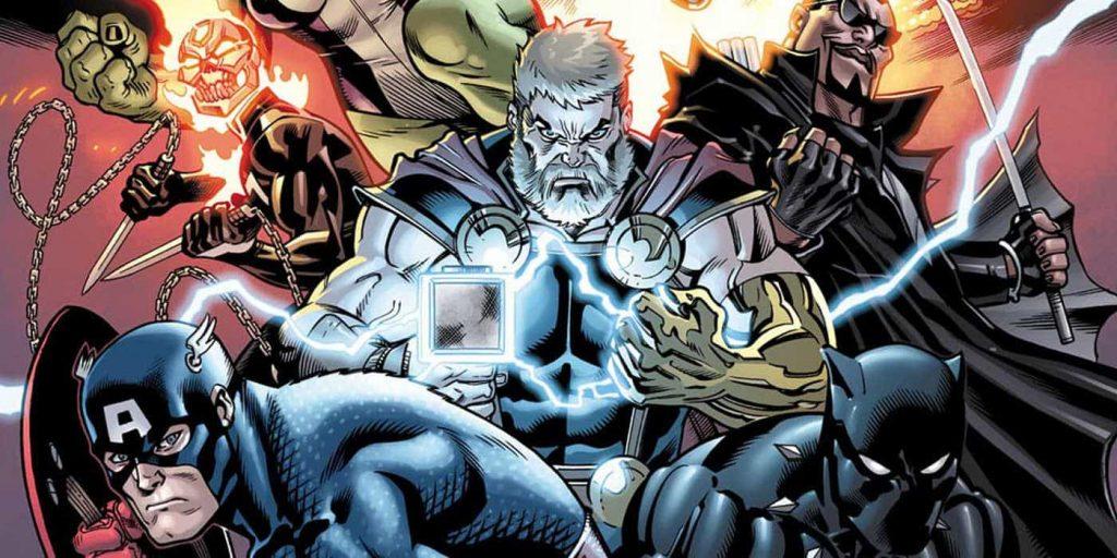 comic books for april avengers new story line