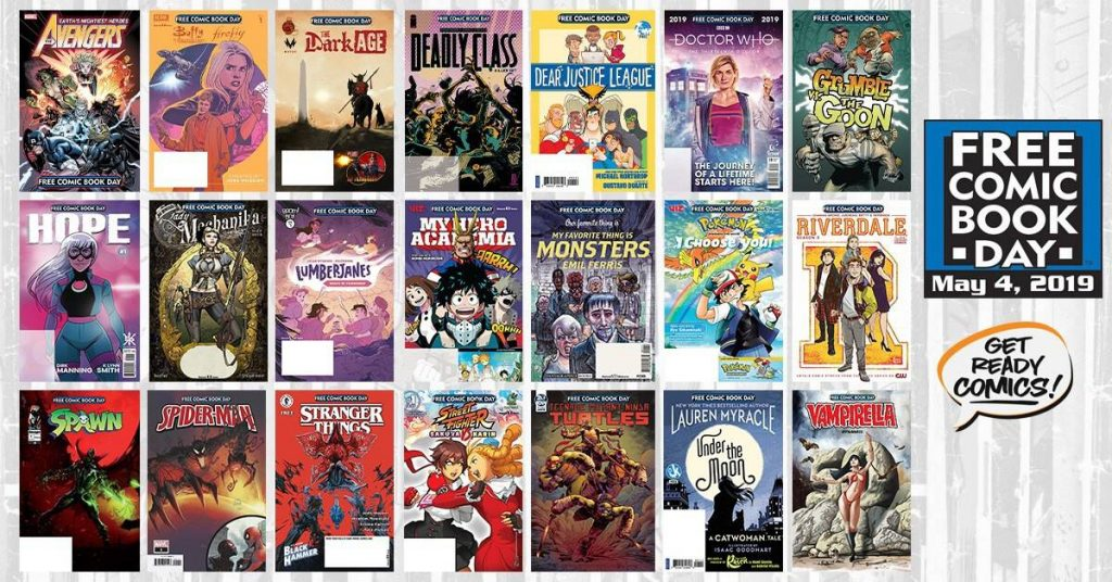 free comic book day 2019 best lineup
