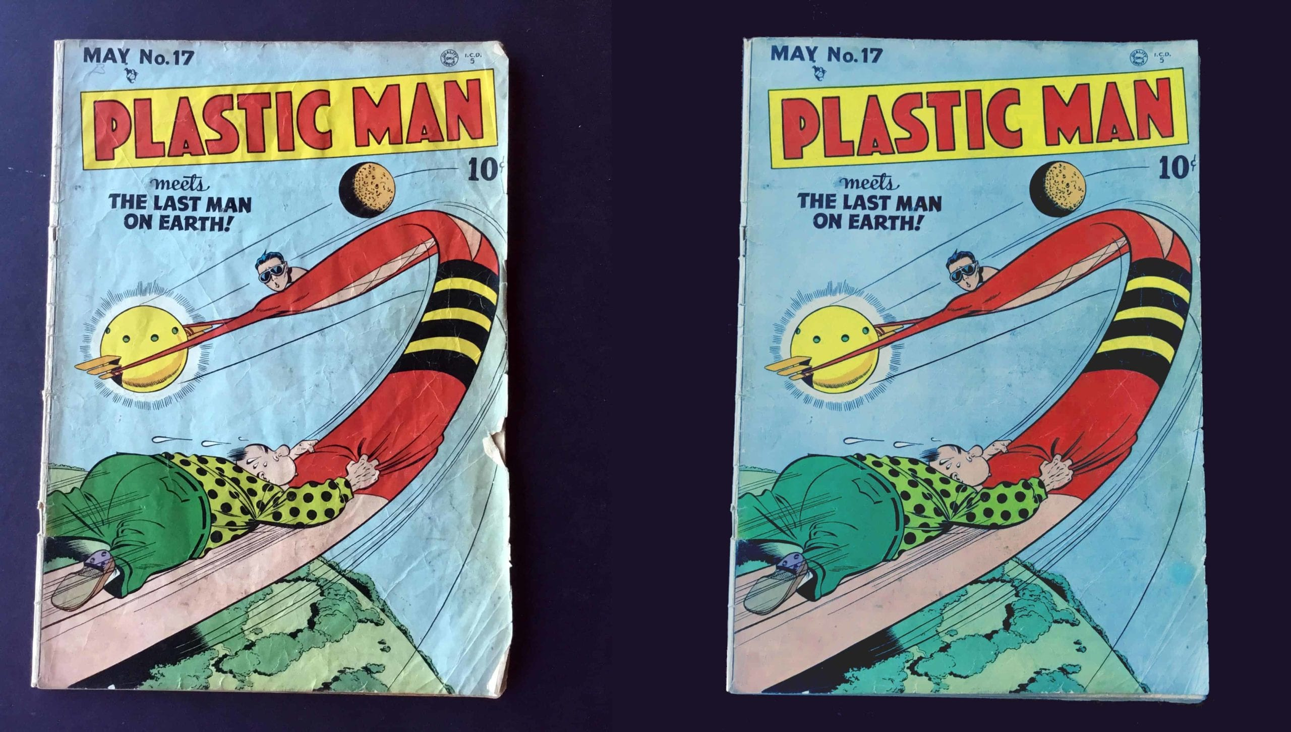 comic book dry cleaning difference
