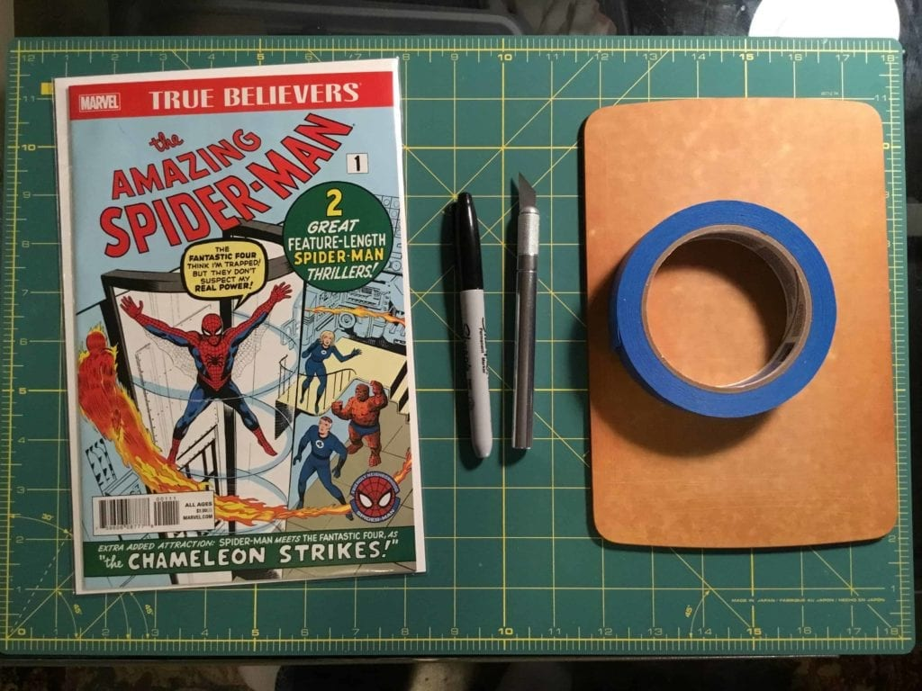 DIY how to press comic books