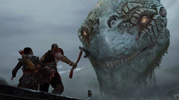 Top Ten Ps4 Games - God of War