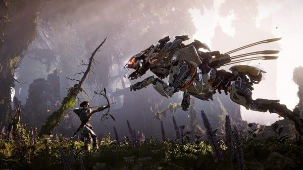 Top Ten Ps4 Games - Horizon Zero Dawn