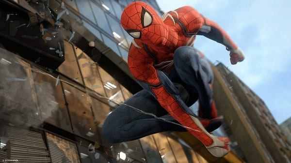 Top Ten Ps4 Games - Marvel's Spider-Man