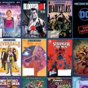 free comic book day 2019 lineup
