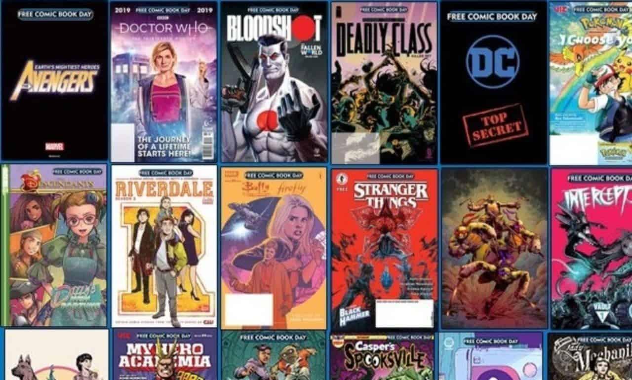 free comic book day 2019 lineup