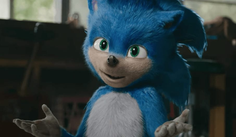 Sonic the Hedgehog movie trailer screen shot image