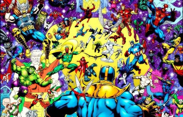 infinity saga comic books fight