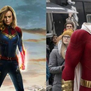 Captain Marvel and Shazam