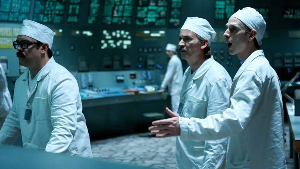 Hit HBO Show Chernobyl scene from show