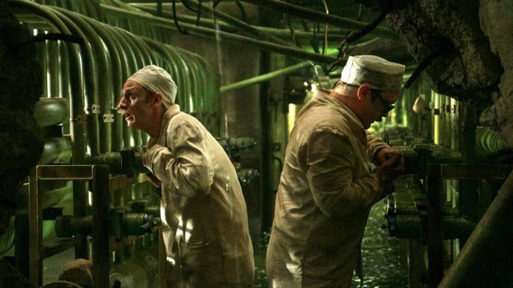 Hit HBO Show Chernobyl before the blast show shot