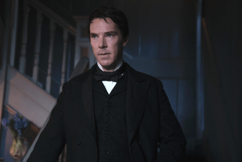 Cumberbatch as Thomas Edison, The Current War