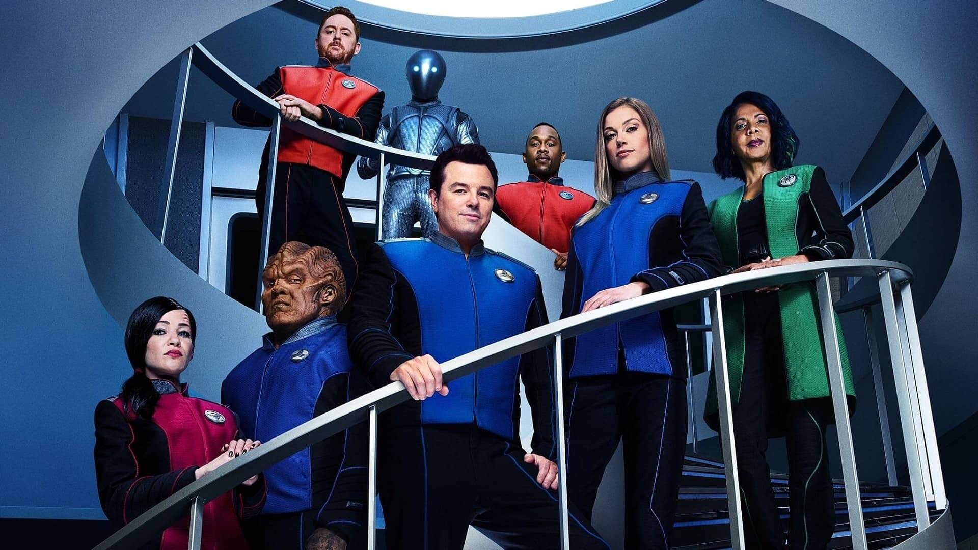 The Orville Comic from Dark Horse
