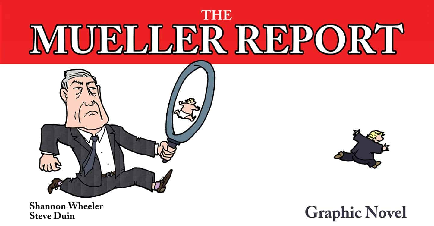 The Mueller Report Graphic Novel via IDW