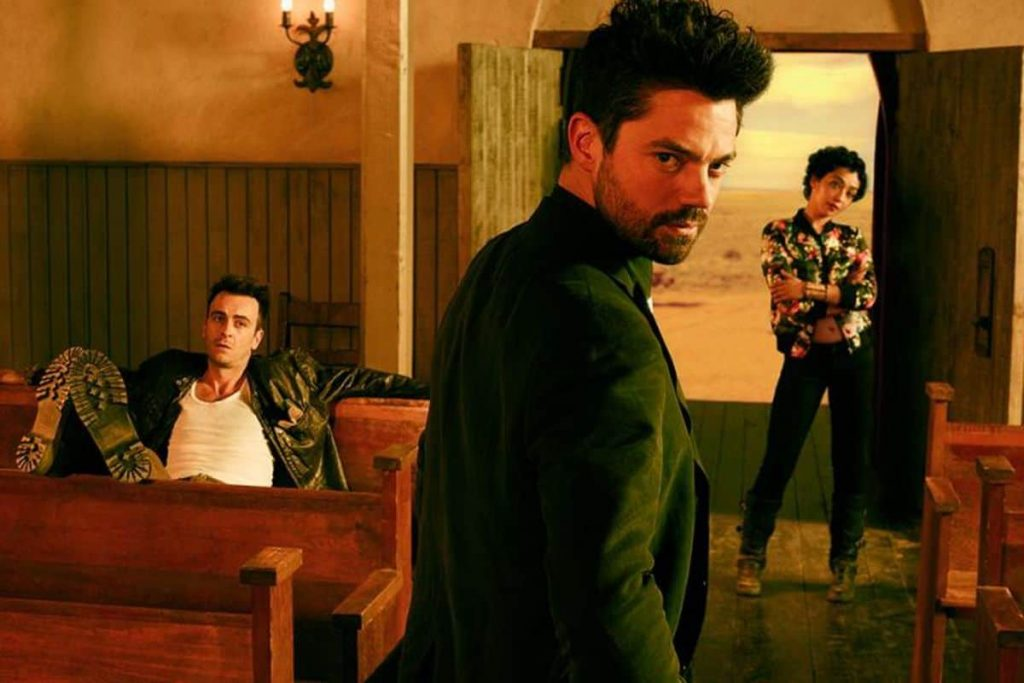 Trailer for Preacher Season Four