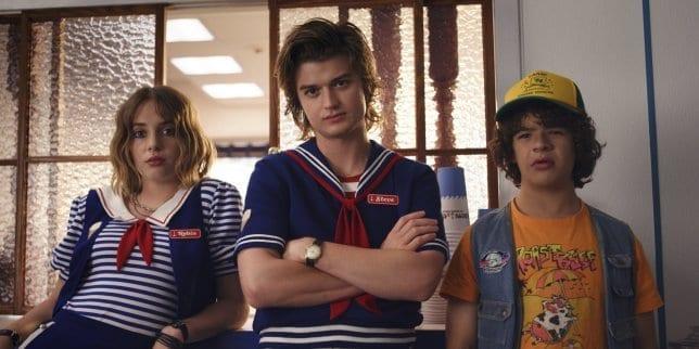 Robin, Dustin and Steve