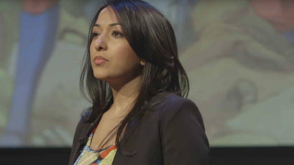 Sana Amanat, a powerful woman of comics