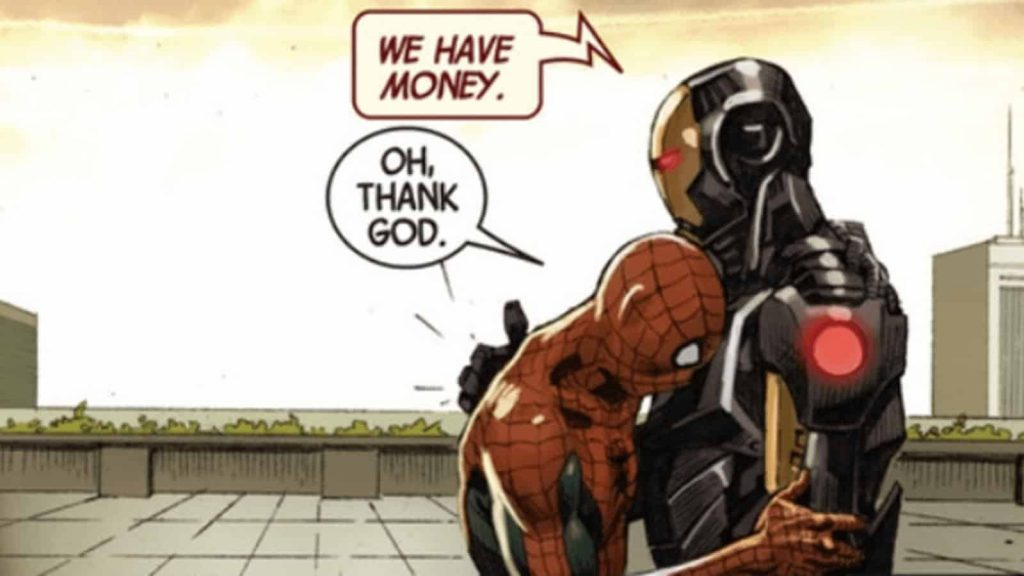 Sony and Marvel Spider-Man Contract