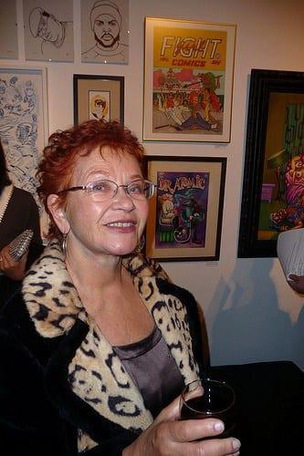 Trina Robbins, woman, Feminist and Comic Icon