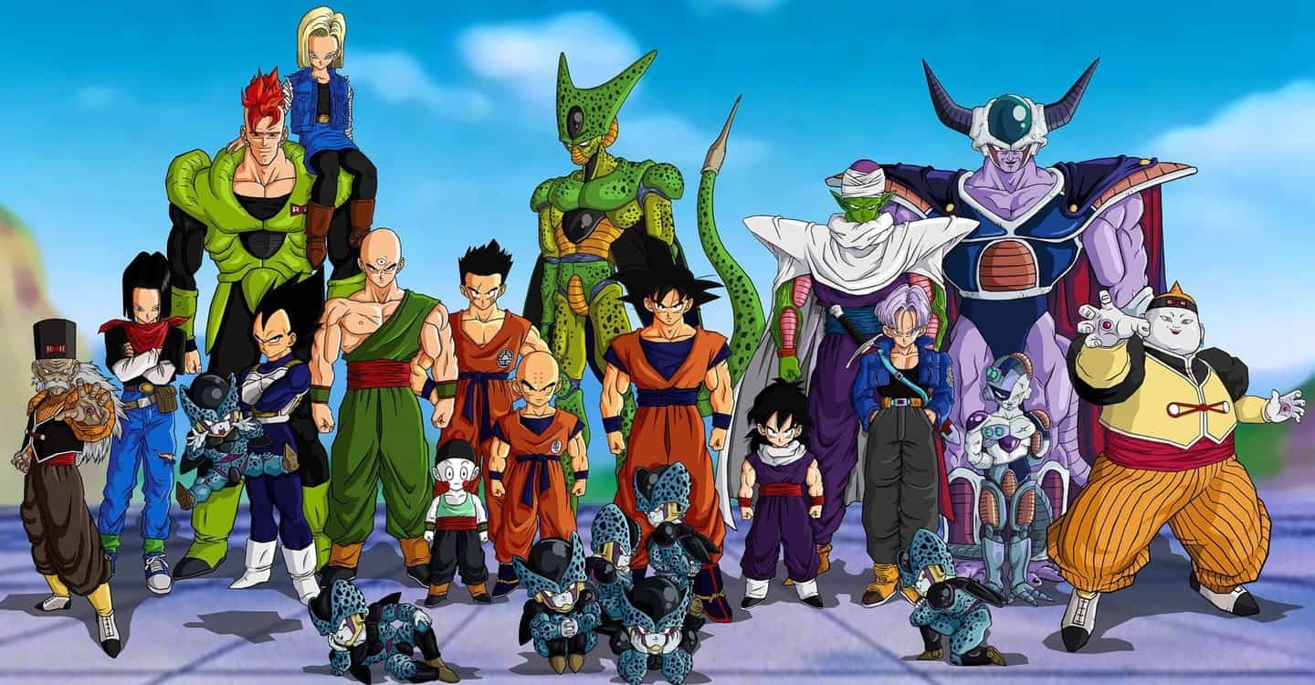 An image from 'Dragon Ball Z Kai'
