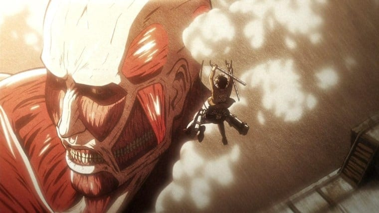 An Image from 'Attack On Titan'.