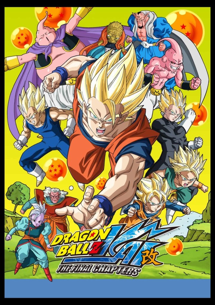 Poster for 'Dragon Ball Z Kai'.