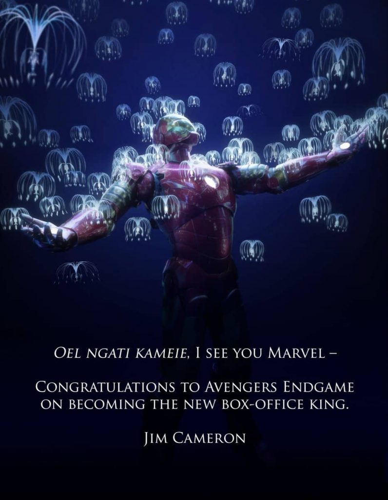 Cameron hands over the title: Endgame Box Office