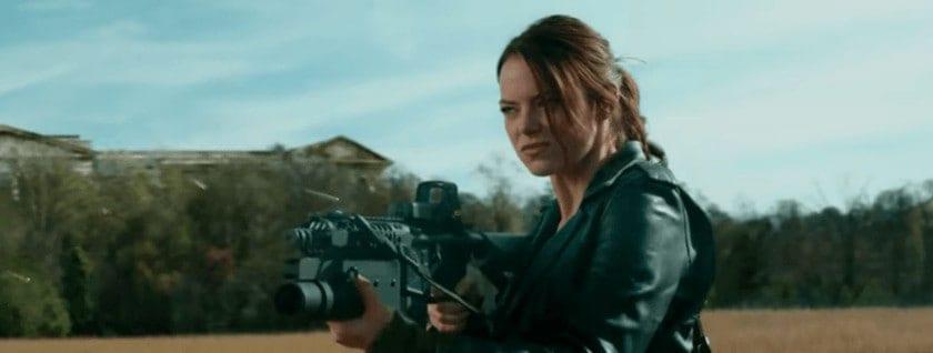 Emma Stone, Zombieland badass