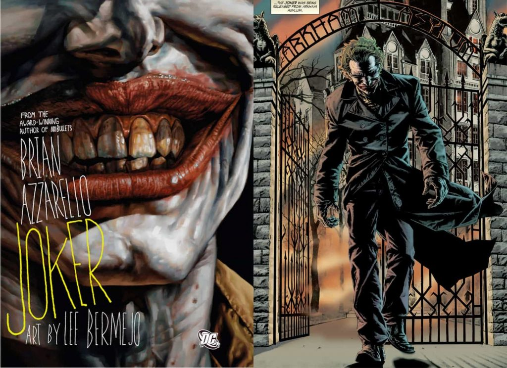 Joker Graphic Novel Cover