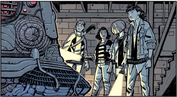 The paper girls gang