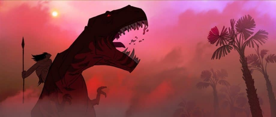 An image rom the new Cartoon Network Adult Swim show 'Primal'