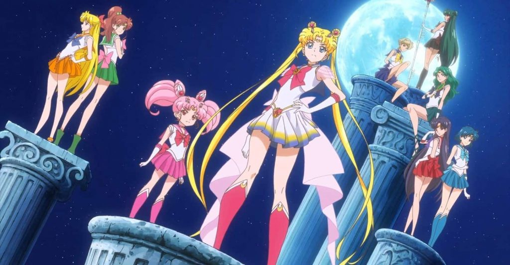 Poster for 'Sailor Moon: Crystal'.
