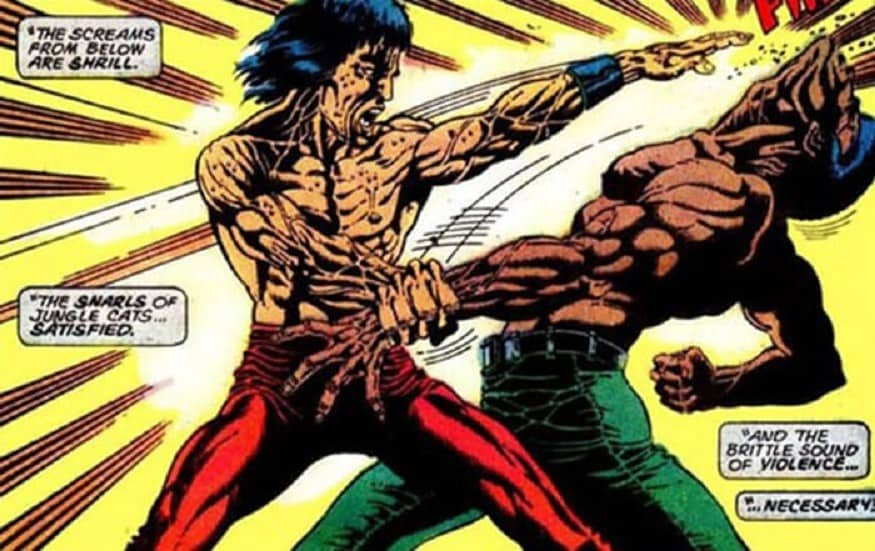 Shang-Chi and Yellow Peril 1