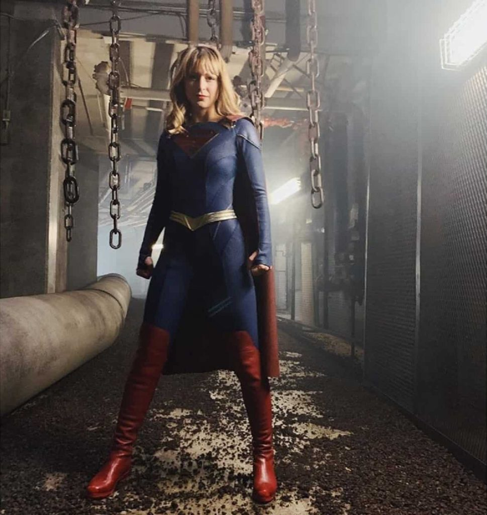 Supergirl's new costume