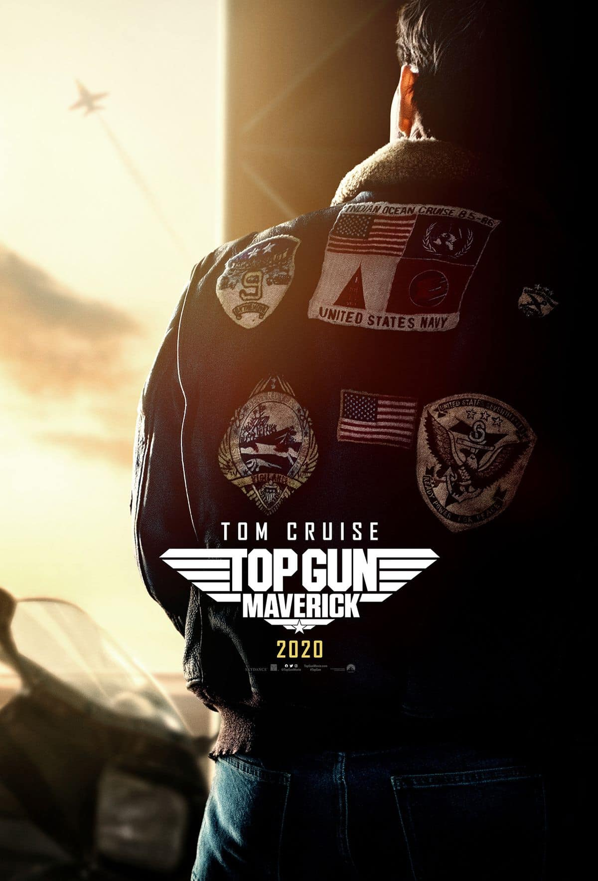 Teaser Poster of Top Gun: Maverick at SDCC 2019