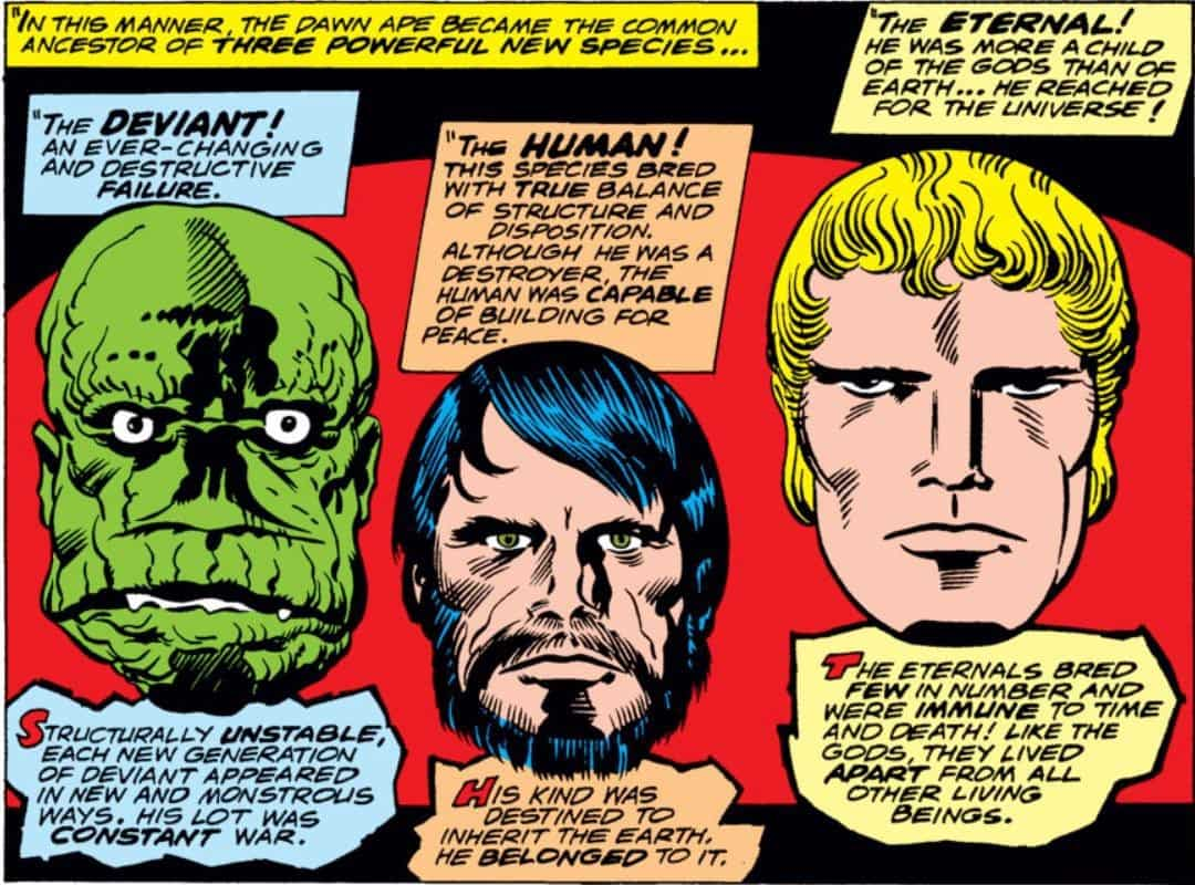 History of the Eternals