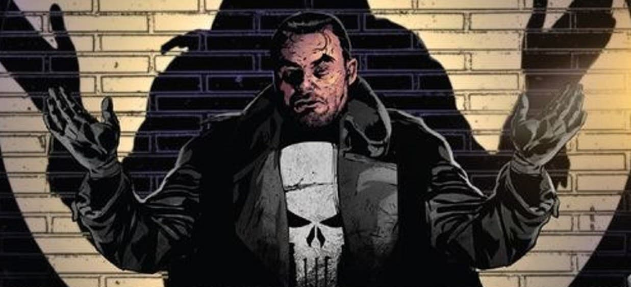 The Punisher tells off cops
