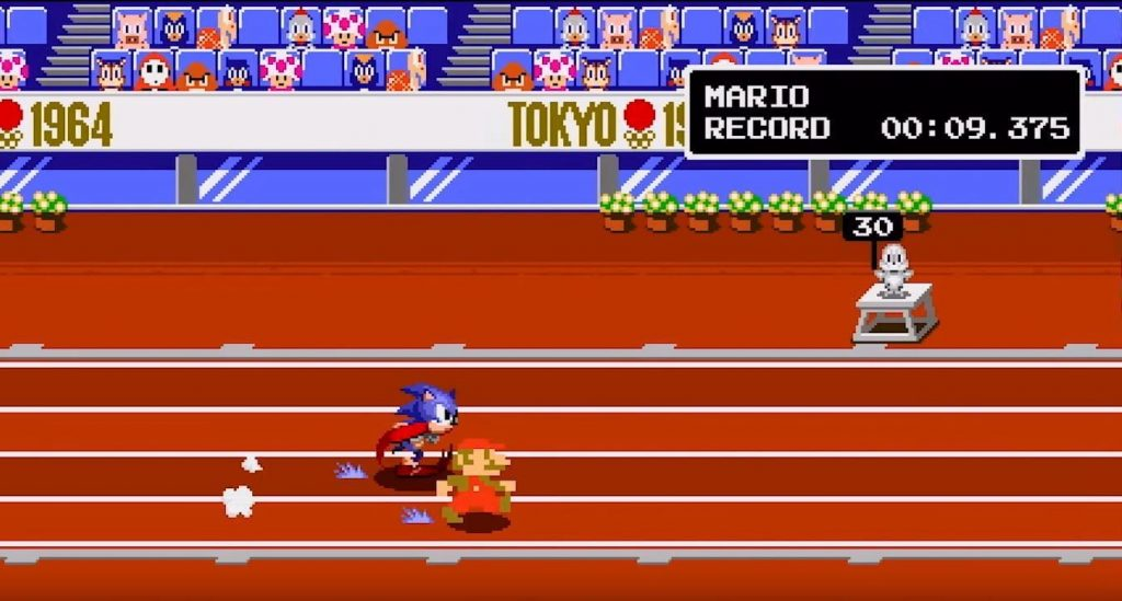 Mario and Sonic at the Olympics Goes Retro with 2D