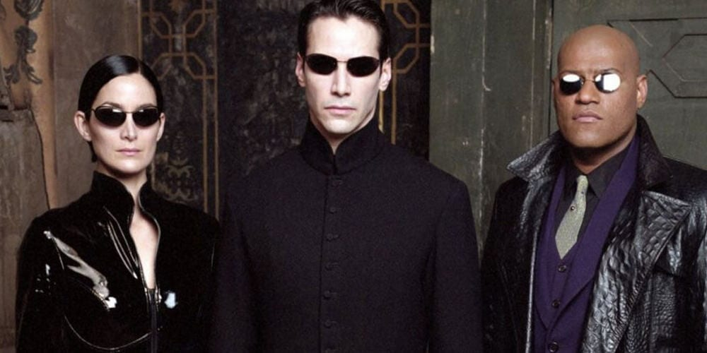 A poster of 'The Matrix: Reloaded'