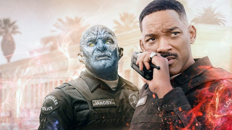 Poster for Netflix's 'Bright'.