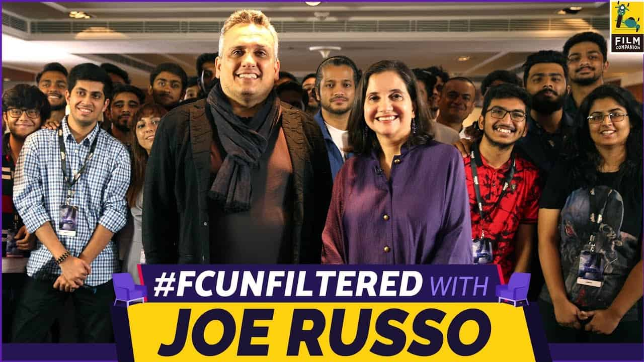 Joe Russo Interview in India.