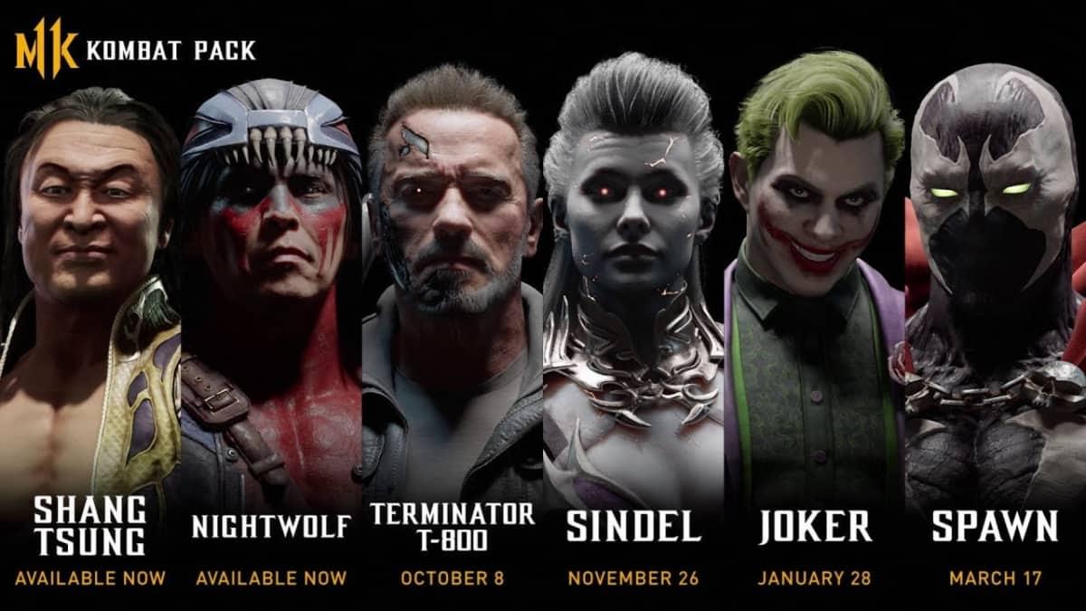 Mortal Kombat 11 DLC Characters Announced