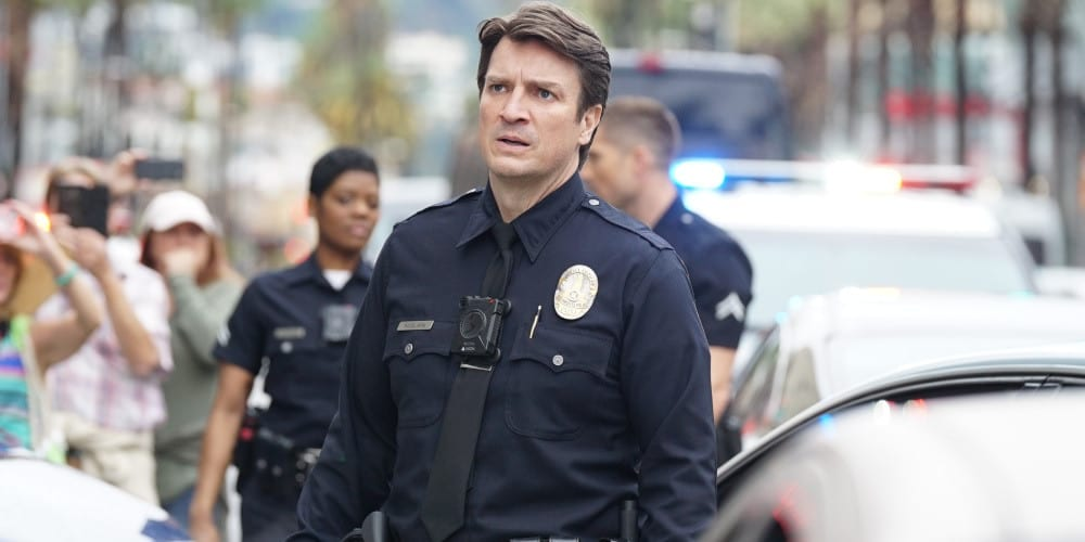 An image from 'The Rookie.'
