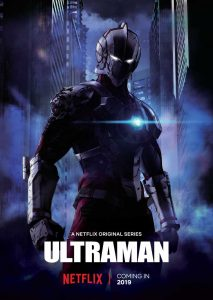 Poster for Netflix's Ultraman.