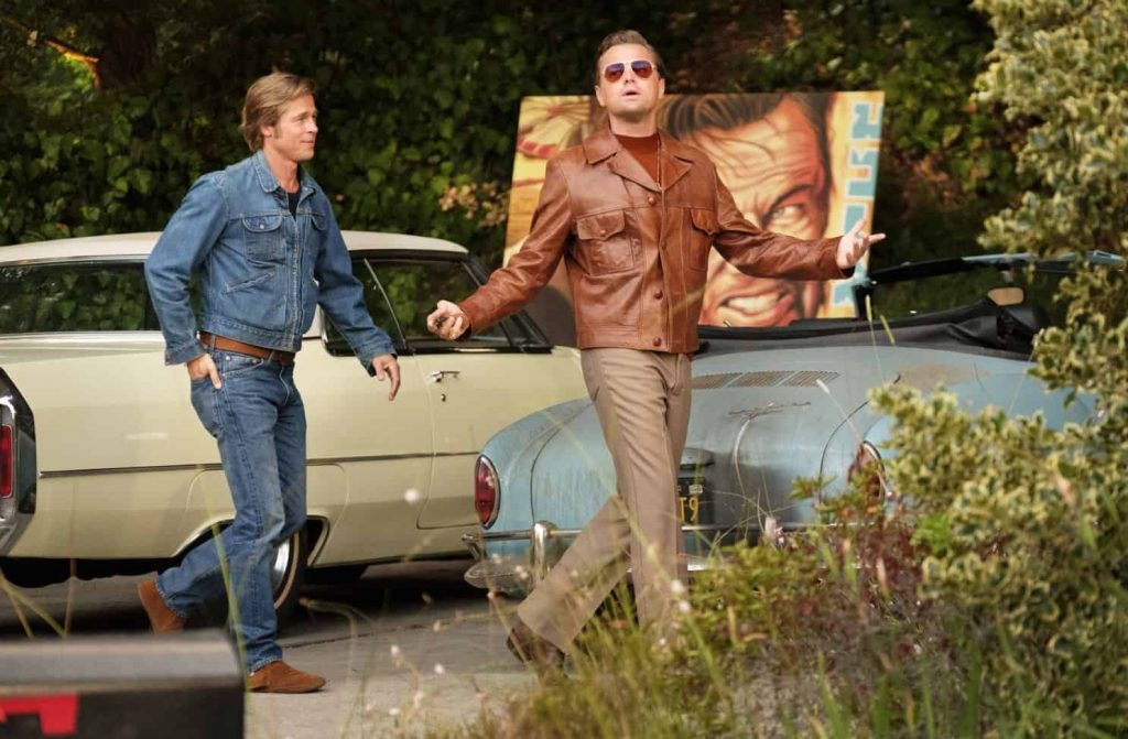 Once Upon a Time in Hollywood ending