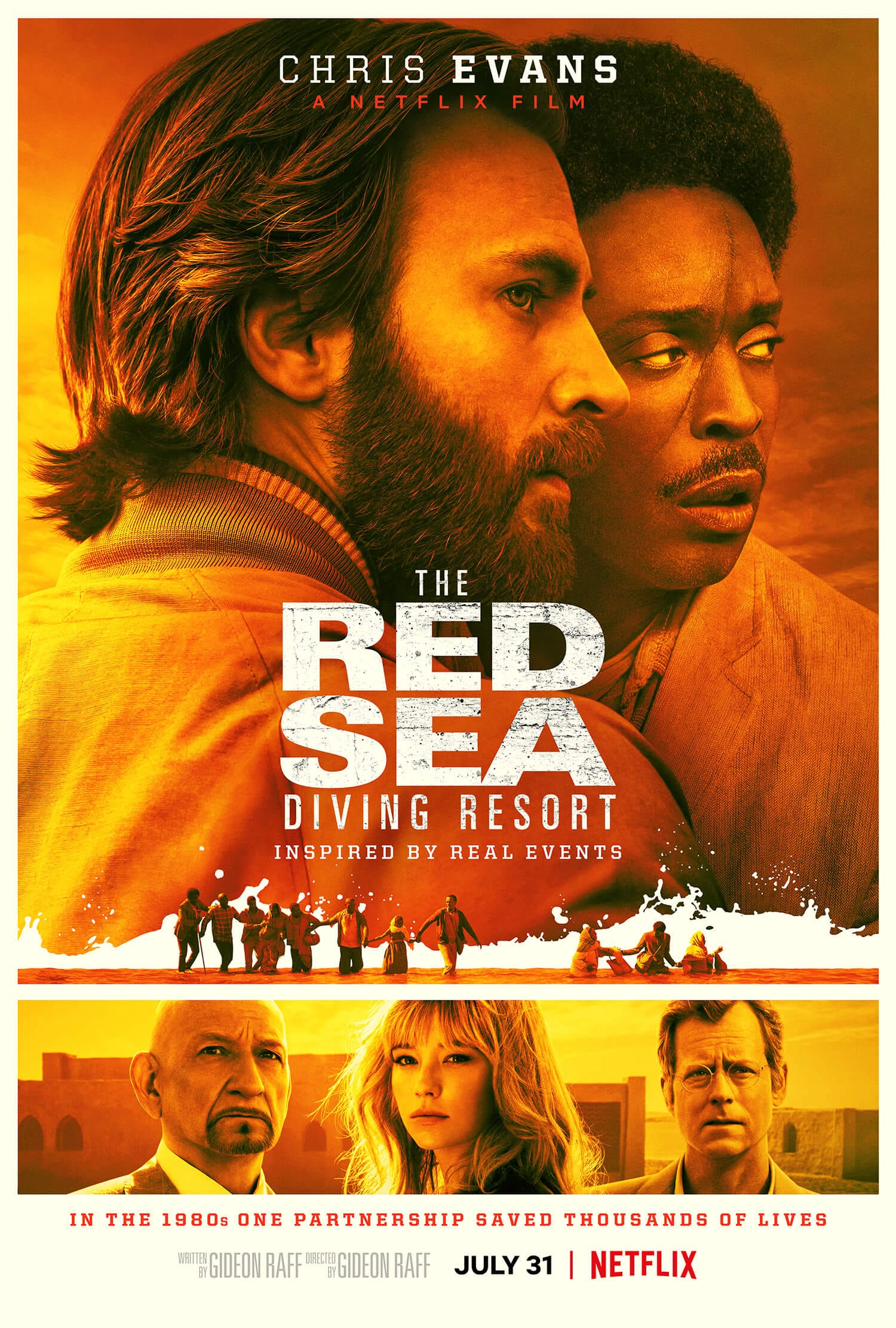 Poster for 'The Red Sea Diving Resort.'