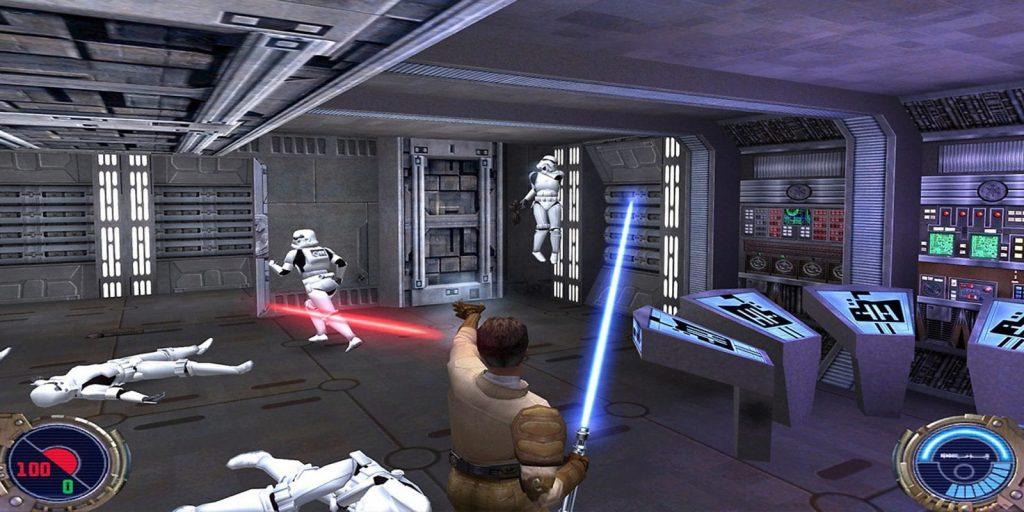 star wars video games kotr