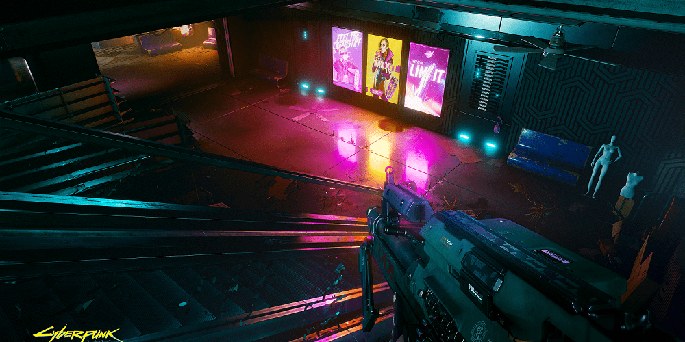 Cyberpunk 2077 First Person Camera View is a Mistake