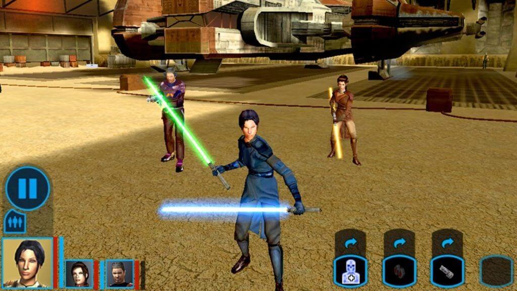 star wars video games kotor 2