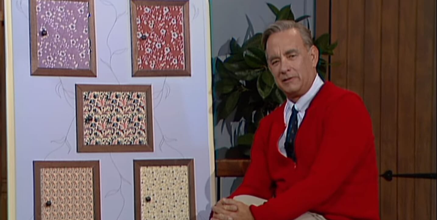 A Beautiful Day in the Neighborhood featurette Mister Rogers Tom Hanks Screengrab